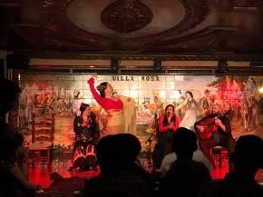 An amazing Flamenco restaurant in Madrid